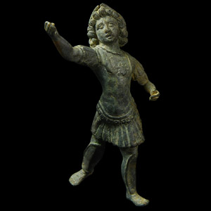 Roman Young Warrior God Statuette