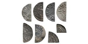 Henry II to Henry III - Short Cross Cut Halfpennies and Farthings [8]