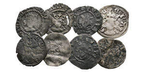 Edward I to Edward III - Long Cross Farthings [8]