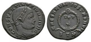 Constantine II - Wreath Bronze