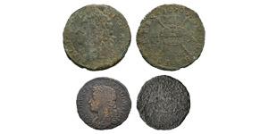 Ireland - James II - 1690 - Gunmoney Shilling and Sixpence [2]