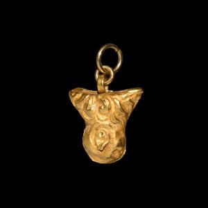 Gold Phallic Pendant