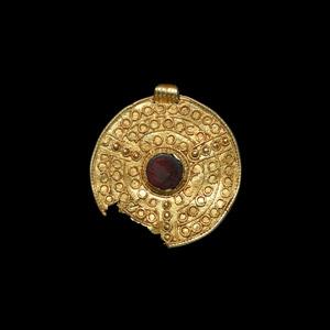 Scandinavian Pre-Viking Gold Filigree Pendant