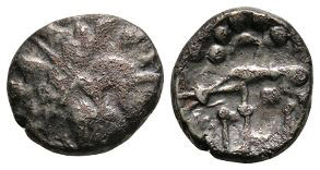 Celtic Iron Age Coins - Iceni - Base Norfolk Wolf Stater