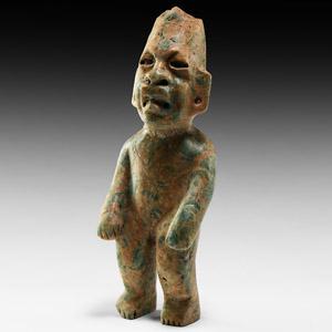 Olmec Jadeite Standing Figure