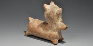 Central American Pukara Ceramic Figurines