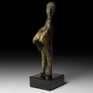 Statuette of a Cloaked Tribal Chief