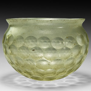Western Asiatic Sassanian Cut-Glass Cup