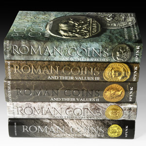 Sear - Roman Coins and Their Values Set [5]