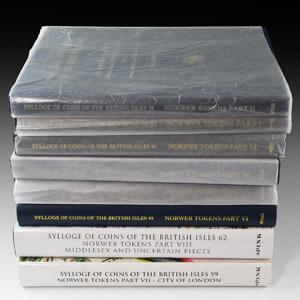 SCBI - Norweb 17th Century Tokens Catalogues Set [8]