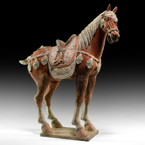 Large Chinese Tang Horse Figure