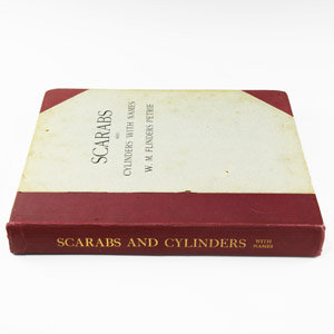 Archaeological Books - Petrie - Scarabs and Cylinders with Names