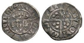 Edward I - Newcastle upon Tyne - Long Cross Penny