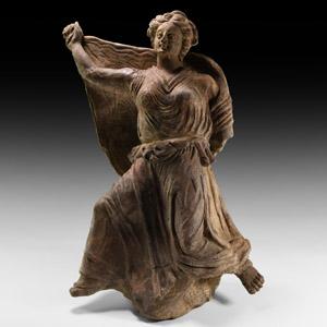 Terracotta Maenad Figurine