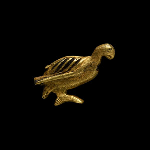 Gold Vulture Amulet