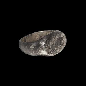 Silver Legionary Ring with Boar