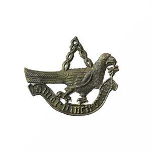 Medieval Love Conquers All Pilgrims Badge