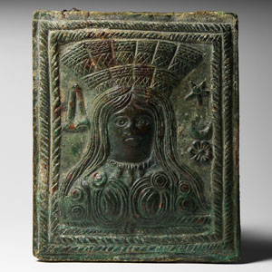 Plaque with Goddess Cybele