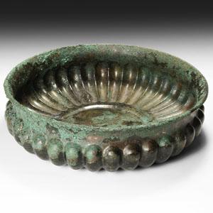 Fluted Libation Bowl