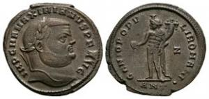Maximian - Genius Follis