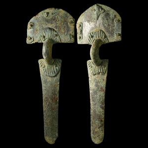 Large Visigothic Brooch Pair