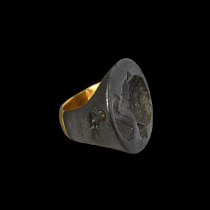 Ring with Bust of Berenike II