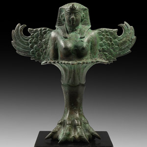 Romano-Egyptian Sphinx Tripod Table Foot
