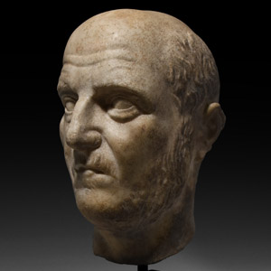 Head of an Emperor or a Military Leader