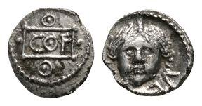 Celtic Iron Age Coins - Atrebates and Regni - Verica - Medusa Minim