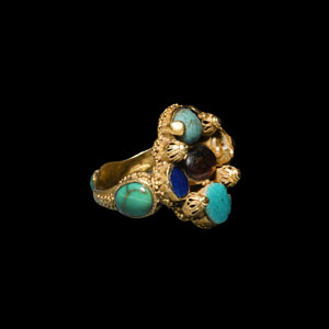 Gold Jewelled Ring