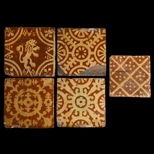 Post Medieval Flanders Tile Collection