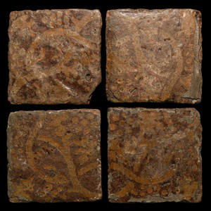Medieval Elaborate Floor Tile Set