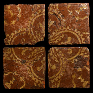 Medieval French Floor Tile Set