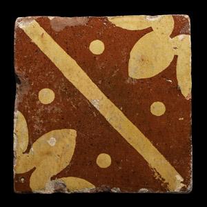 Medieval French Floor Tile