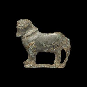 Roman Bull Brooch