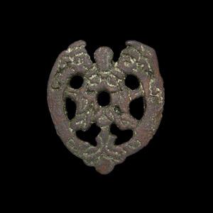Viking Openwork Bears Mask Mount