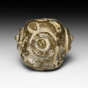 Roman Miniature Decorated Globular Vessel