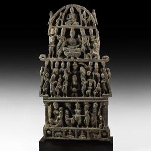 Gandharan Multi-Tier Stele