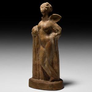 Hellenistic Terracotta Nike Figurine