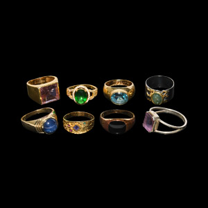 Vintage and Other Ring Collection