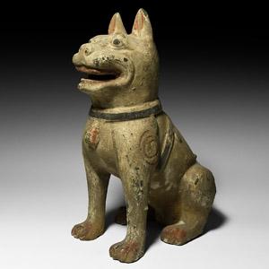 Chinese Han Guardian Dog Figure