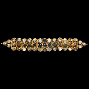 Jewelled Gold Bracelet