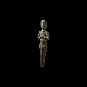 Medieval Joan of Arc Statuette