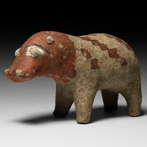 Nubian Hippopotamus Figure