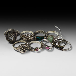 Vintage Silver Ring Collection