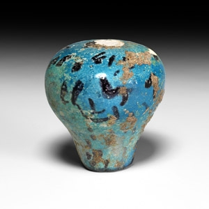 Egyptian Blue Finial