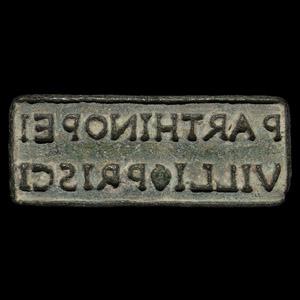 Amphora Stamp for Neapolitan Wine Belonging to Priscus