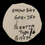 British Anglo-Saxon - Variety K - Sceatta
