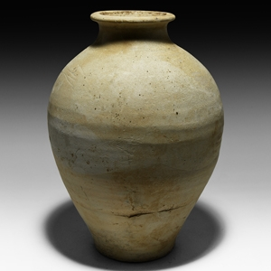 Chinese Tang Glazed Whiteware Jar