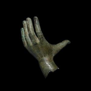 Bronze Statue Hand